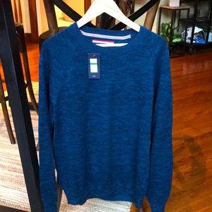 Tommy Hilfiger men's blue sweater